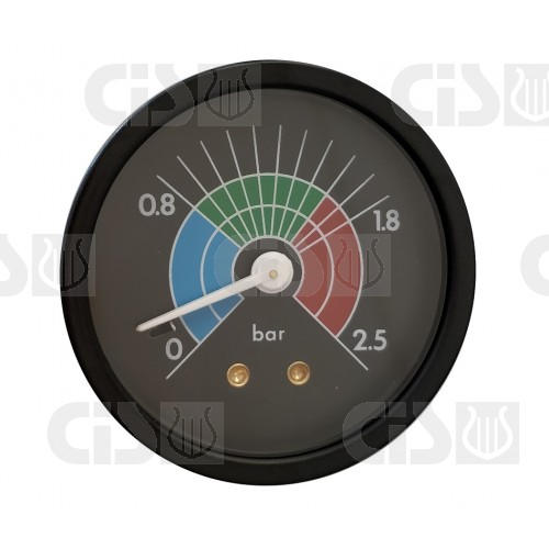 Gauge Ø57 0-2.5 bar - Connection G1/8