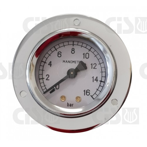 Gauge Ø50 0-16 bar - Connection G1/8