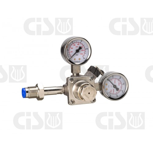 Piston pressure regulator n2