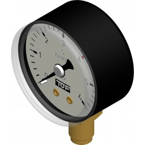 Low pressure gauge Ø40 - 6 bar