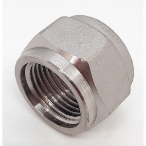 "CO2 BOTTLE CONNECTION NUT W21.8-14FIL.X1"" - CH.30"