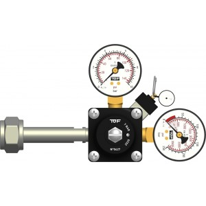 Co2 pressure regulator Italy