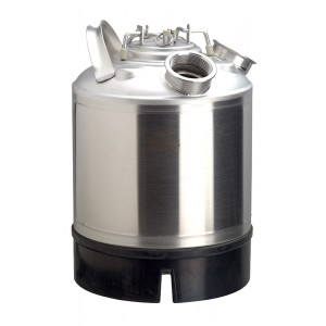Washing keg 9l - 1 beer fitting connection