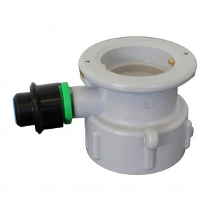S type connection for Plastic Washing keg 5l