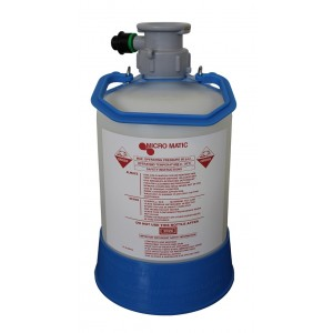 Plastic Washing keg 5l - S type connection