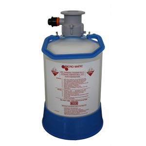 Plastic Washing keg 5l - A type connection