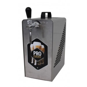 Cooler over counter 1 way beer - built in air compressor - suitable for Keg system