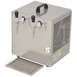 Cooler over counter 2 ways beer air compressor integrated