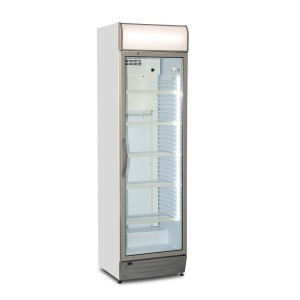Upright display cooler - 100% Made in Europe