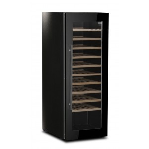Upright wine display cooler - 100% Made in Europe