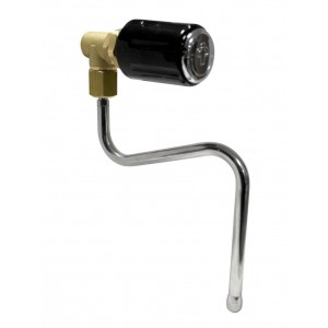 Steam tap complete with pipe compatible with machines: Bfc Royal - non-original product