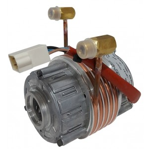 MOTOR WITH CLAMP LIQUID COOLED