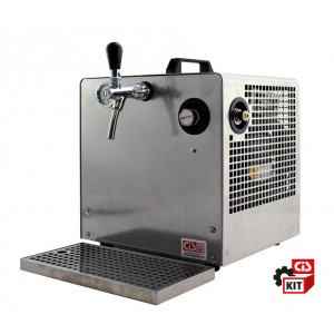 Cooler dispensing beer system  1 way 1 HP DRY M accessories included